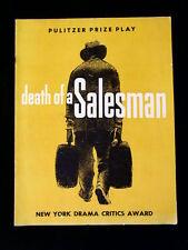 DEATH OF A SALESMAN Souvenir Program Elia Kazan ~THOMAS MITCHELL 1950 Tour