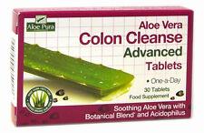 1 pack de Optima Aloe Vera Limpieza De Colon Avanzado 30 Comprimidos