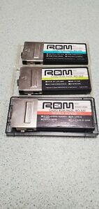 Lot (3) Vintage CASIO ROM Packs RO-551 world songs RO-263 country greats, RO-276