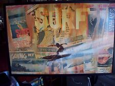 John Severson Signed Big Surf Event Original Art Piece