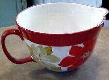 Pioneer Woman Poinsettia Batter Bowl