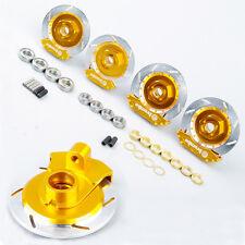 1:10 Racing Model Car Alum Alloy Wheel Rim Brake Disc 00145G For HPI HSP RC