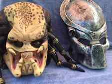 Halloween Costume ALIEN PREDATOR LATEX DELUXE MASK WITH HELMET Haunted House NEW