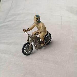 Vintage Britains Ltd 'Speedway' Racer & Motorcycle/Bike 1:32 Made in England