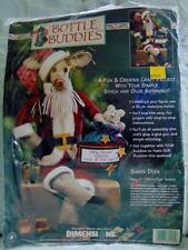 Dimensions 1997 Bottle Buddies Santa Deer Soft Doll Home Decor Kit