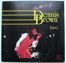 DENNIS BROWN - THE BEST OF Part 2 [JOE GIBBS MUSIC] LP