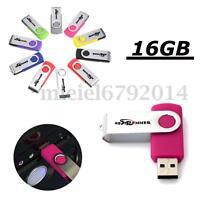 BESTRUNNER Memory USB 2.0 Pendrive 16GB Multi-color/Sistema 15M/6M + USB Lector