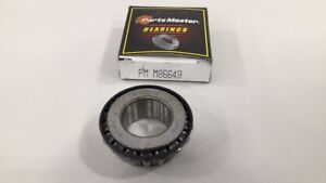 Parts Master PMM86649 Differential Pinion Bearing M86649 Tapered Roller Bearing