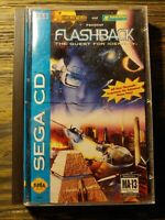 Flashback: The Quest for Identity (Sega CD) CIB - Tested/Works
