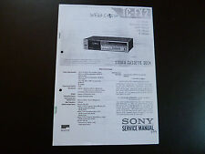 Service Manual Sony TC-FX2