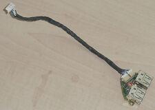 Doble puertos USB placa board + cable cable Panasonic Toughbook cf-w5