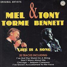 MEL TORME & TONY BENNETT Life Is A Song CD - New