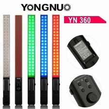 Handheld Adjustable YongNuo YN360 LED Video Light 3200K-5500K RGB Colorful Stick
