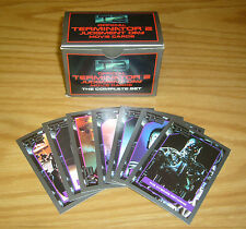 T2 Judgment Day Movie Cards the Complete Set (140) w/box +hologram +stan winston