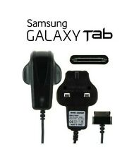 """Replacement Samsung UK Wall Charger for Galaxy Tablet 10.1 """" 8.9"""" 7"""" Tab 2 Black"""