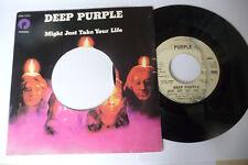 "DEEP PURPLE""CORONARIAS REDIG-DISCO 45 GIRI EMI Italy 1974"""