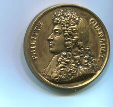 1822 France 42 MM Bronze Philippe Quinault Medal / Bronze Medal / M91
