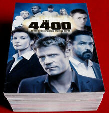 THE 4400 - Season Two - COMPLETE BASE SET (72 cards) - Inkworks 2007