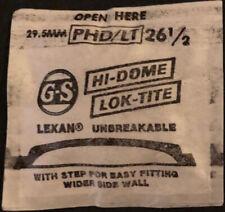 GS - PHD/LT - Lok-Tite - Hi-Dome -  Vintage Watch Crystals - Various Sizes