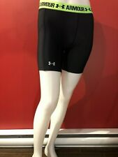 UNDER ARMOUR Women's Black HeatGear Compression Shorts - Size XS - NWT