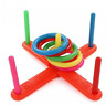 Kids Educational Game Rings Stacking Toy Children Ring Toss Circle Cast Throw