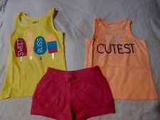 NWT 2T CRAZY 8 by GYMBOREE SUMMER TOPS & SHORTS