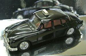 Corgi Classic Cars Collectors C706/1 Jaguar 3.4 Litre Mark 2 Black Police Car (1