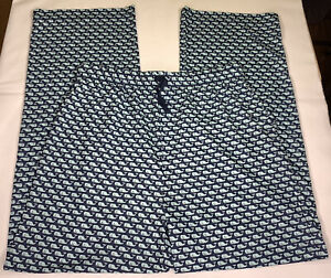 Kids Vineyard Vines Whale Lounge Pajama Pants Navy Size Large (16)
