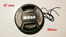 67 mm Nikon Lens cap Pinch Type LC-67 UK Seller