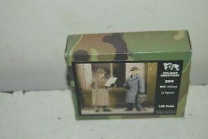 Model 2 Figurine VERLINDEN WWII Civilians Civil New N° 2016 1/35