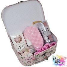 Womens Bath and Body Gift Set | Rose Pamper Hamper | Soap Sponge | Hand Cream