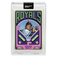 Topps Project 2020 George Brett # 75 1975 Baseball 228 Rookie Card SP - Grotesk