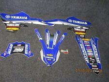 Yamaha YZF250 YZF450 2014-2017 Star Racing USA team graphics kit SG083