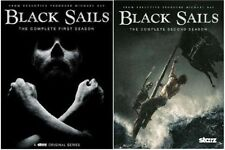 Black Sails Season 1 2 Complete Series DVD Set Collection TV Show Lot All Bundle