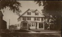 Home - Granby or East Hartland CT Written on Back c1910 Real Photo Postcard