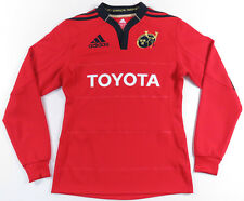 MUNSTER RUGBY ADIDAS CLIMACOOL L/S JERSEY SHIRT IRELAND IRFU PRO14 TOYOTA MENS S