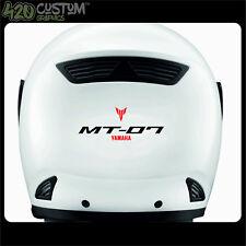 Yamaha Mt 07 Casco Kit Decal Sticker Detalle-mejor Calidad-Muchos Colores