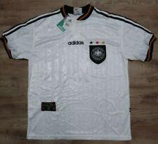Germany Soccer Jersey Football Shirt adidas 100% Original L EURO 1996 Home