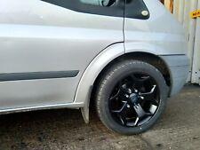 "18"" All Black Alloy Wheels Tyres Ford Transit Kombi M1 Cab Custom ST 2554518 XL"
