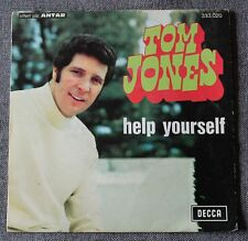 Tom Jones, help yourself / day by day, SP - 45 tours