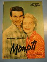 Romy Schneider.Monpti IFB Filmprogramm 1950.Jahre.Nr.3880-Movie program