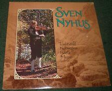 Traditional Norwegian Fiddle Music Sven Nyhus~1981 Shanachie 21003 LP~FAST SHIP!