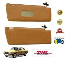 Mercedes-Benz W123 Sun Visors, Palomino, Leatherette, DHL Express shipping