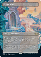 MtG x1 Urza's Mine (Borderless) Double Masters - Magic the Gathering Card