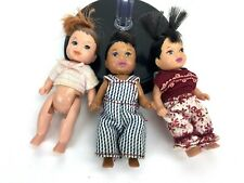 Barbie Happy Family Neighborhood Asian African American Toddler Baby Birthday