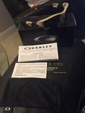 Oakley Flak Jacket XLJ Polarized Sunglasses Desert Grey/Beige Genuine New!!!