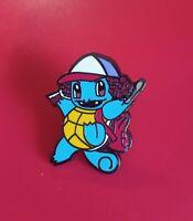 Squirtle Pin Pokemon Pin Stranger Things Dustin Enamel Retro Metal Brooch Badge