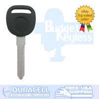 PK3 Transponder Key Ignition Uncut Blade For GM B99PT, 690898, N99HPT, 692952