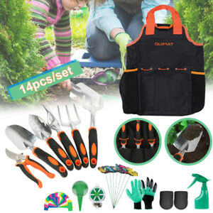 14tlg Gartenwerkzeug Set Grundausstattung Gartengeräte Zubehör Gerätesets Set