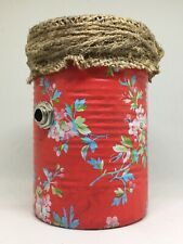 ROCKABILLY 4 FLOWER SOUP CAN MICROPHONE lo-fi vocal mic telephone effect blues